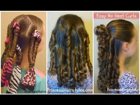 how to get no heat curls in 1 hour