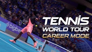 Tennis World Tour - Karrier Mód Trailer