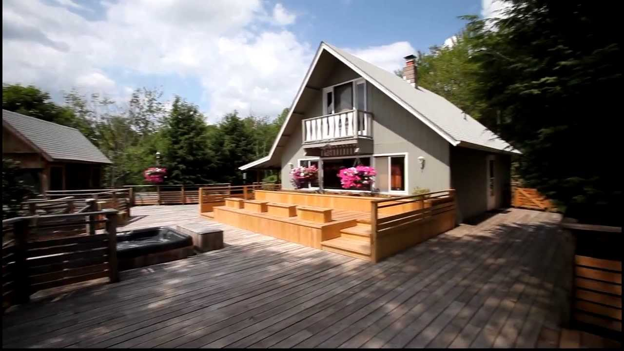 33590 upstate new york real estate large deck youtube for Upstate new york houses