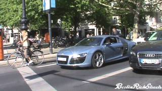 2010 04 09 Fabulous Friday of Car Spotting: SLR 722S, Spyker, SL65 Black videos