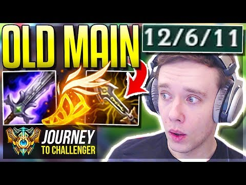 MY OLD ONE-TRICK IS FINALLY META AGAIN!!!!!! - Journey To Challenger | League of Legends