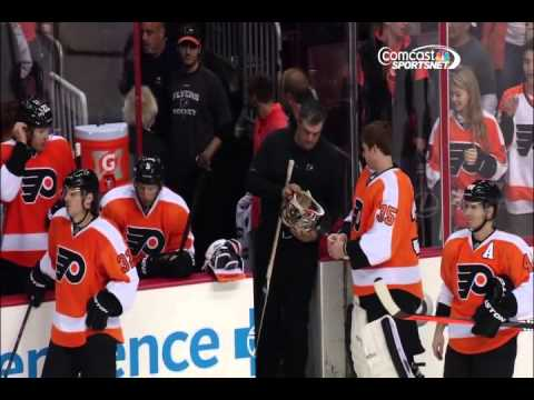 Capitals-Flyers Brawl (washington feed) 11/1/2013