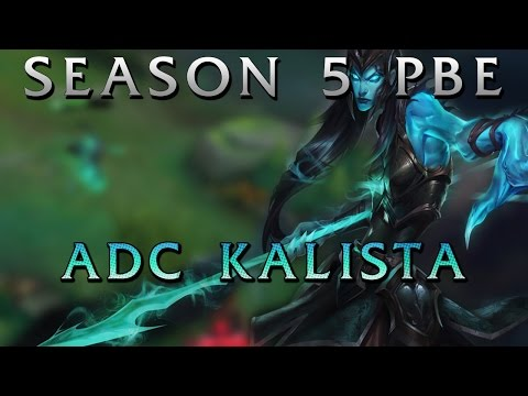 Kalista Gameplay Bot lane - League of Legends