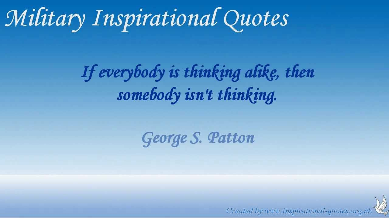 military inspirational quotes youtube