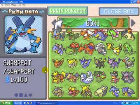 Pokemon Emerald Super Cheat List Over 750 Cheats Including