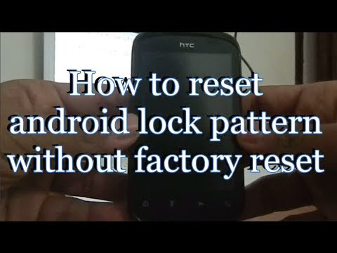 How to reset android pattern lock without the help of computer [no root needed]