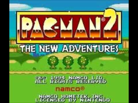 Pac-Man 2: The New Adventures SNES Music: Yoo Hoo!