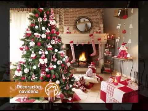 Tendencias en decoraci n para est navidad en mi nueva - Youtube decoracion de casas ...