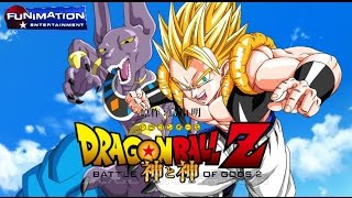 Super Saiyan God GOGETA Dragon Ball Z: BATTLE OF GODS 2