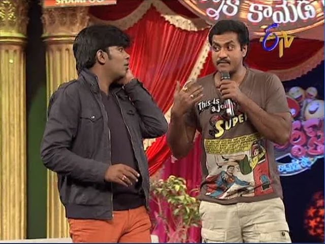Jabardasth - Sudigaali Sudheer Performance on 13th February 2014