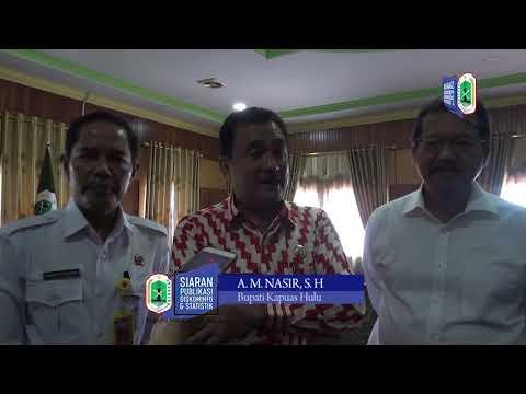 BUPATI KAPUAS HULU MENERIMA PENGHARGAAN DARI BPN TAHUN 2019