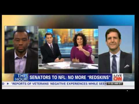 Domenic Romano on CNN - Washington Redskins - 5/23/14