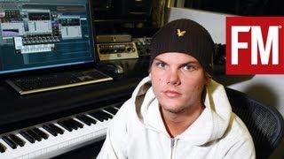 Avicii in the studio  - The Making of Dancing In My Head