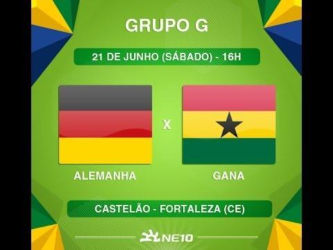 Alemanha X Gana Copa Do Mundo Fifa 2014
