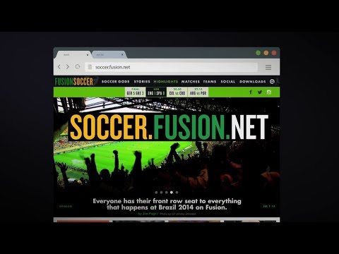 Fusion To Provide Ultimate Second-Screen Destination for World Cup