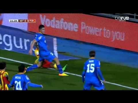 Neymar Injury (Ankle) vs Getafe -  FC Barcelona vs Getafe 2-0 Copa del Rey 16/1/2014