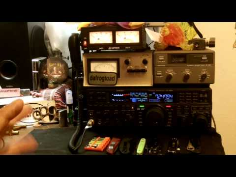 Yaesu FT-950. First look at the setup.
