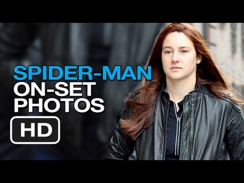 The Amazing Spider-Man 2 - On Set Photos (2014) - Andrew Garfield Movie HD