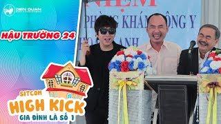 Gia đình là số 1 sitcom |hậu trường 24: Tiến Luật, Phát La cười không ngớt với biểu cảm của Việt Anh