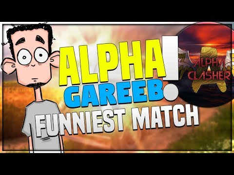 FUNNIEST MATCH BY ALPHA AND GAREEB    TROLLING ULTRA PRO PLAYERS IN PUBG MOBILE!!