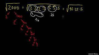 Kvadratni koreni kot racionalna števila