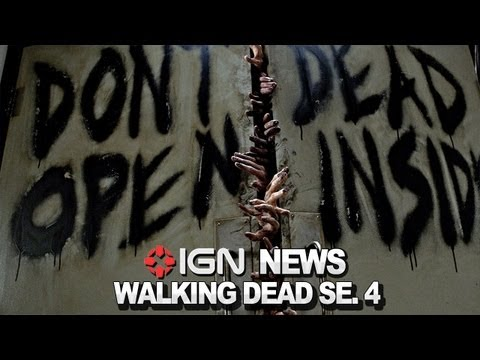 IGN News - Walking Dead Season 4 Confirmed