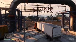 Grand Theft Auto 5 Big Rig Truck Driving Gameplay [HD
