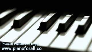Pharrell Williams Happy [MIDI + Sheet Music]