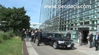 Parlamentul European: Doi președinti de tară – două întrări  diferite