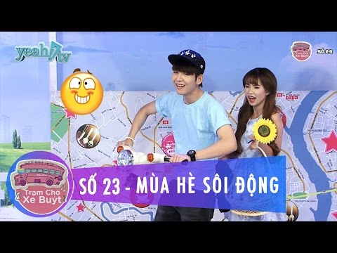 Trạm Chờ Xe Buýt 23 | Mùa Hè Sôi Động | Khởi My & Huy Khánh | MC Cut [Game Show]