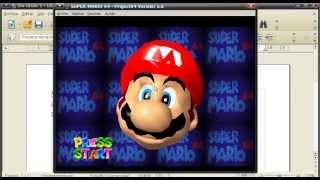 Como Descargar Super Mario 64 En La Canaima Linux