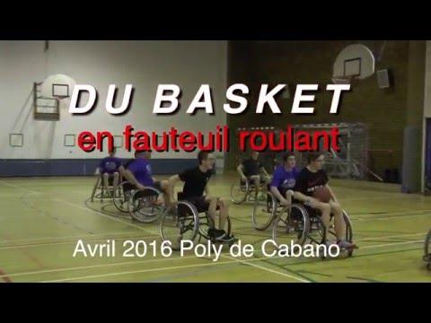 Du Basket en fauteuil