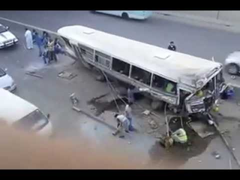 Accident in Riyadh, Saudi Arabia