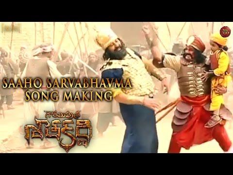 Gautamiputra-Satakarni-Movie-Saaho-Sarvabhavma-Song-Making