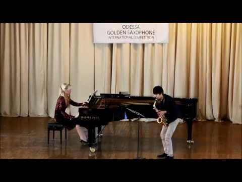 Golden Saxophone 2015 – Sikarin Leelap – Alfred Desenclos Prelude cadence,et finale