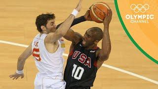 Spain vs USA - Gold Medal Match | Beijing 2008 |Throwback Thursday