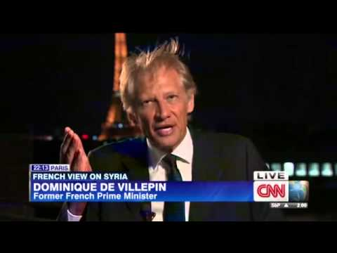 De Villepin: How can we protect Syrians?
