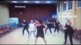 Bailando Zumba por primera vez