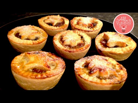 Christmas Recipes : How to make Mince Pies! Easy & Yummy Recipe!