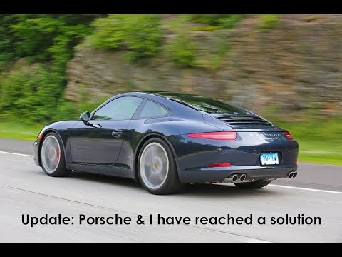 Porsche 911 991 issues update