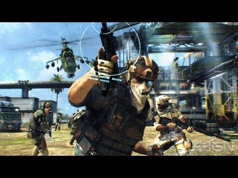 Второе видео Ghost Recon: Future Soldier