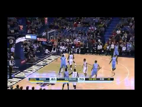 NBA CIRCLE - Denver Nuggets Vs New Orleans Pelicans Highlights 27 Dec. 2013 www.nbacircle.com