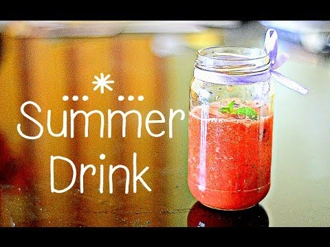 Easy homemade refreshing summer drink {Delhi Fashion Blogger}