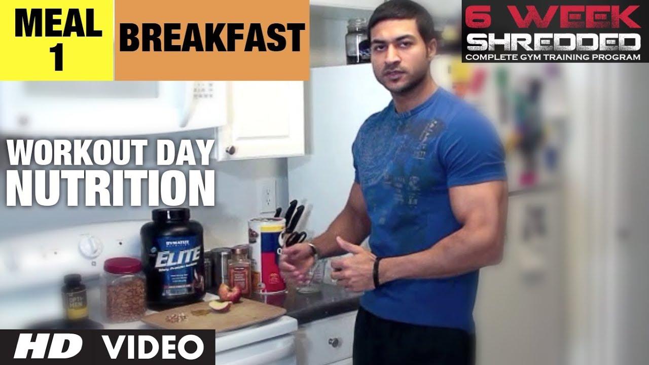 Workout Calendar By Guru Mann : Meal breakfast workout day nutrition guru mann