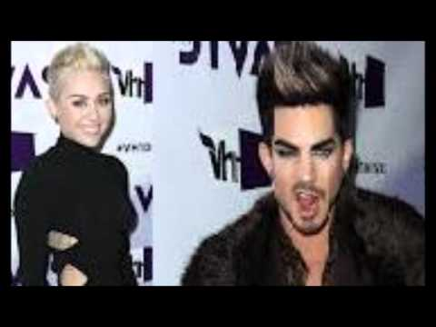 Did 'Adam Lambert' Pass 'Miley Cyrus' A Joint At His Halloween Party