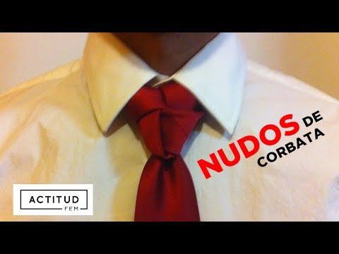 Como hacer un nudo de corbata | ActitudFEM
