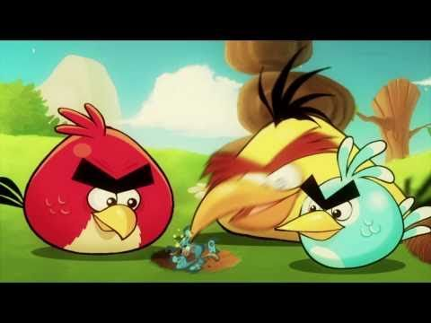 Angry Birds &amp; the Mighty Eagle, http://www.angrybirds.com Big and exciting things are happening in the Angry Birds world! The enigmatic Mighty Eagle is lurking in the shadows, waiting to ma...