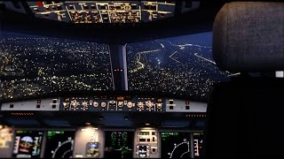 FSX 2015 Extreme Realistic NIGHT COCKPIT DX10 [ULTRA HD