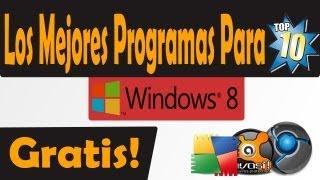 Descarga Los Mejores Programas Full Para Tu Windows 8
