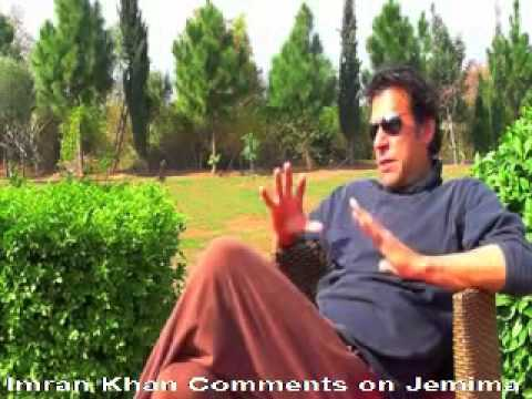 Imran Khan Comments on His Ex Wife Jemima New Update 2014